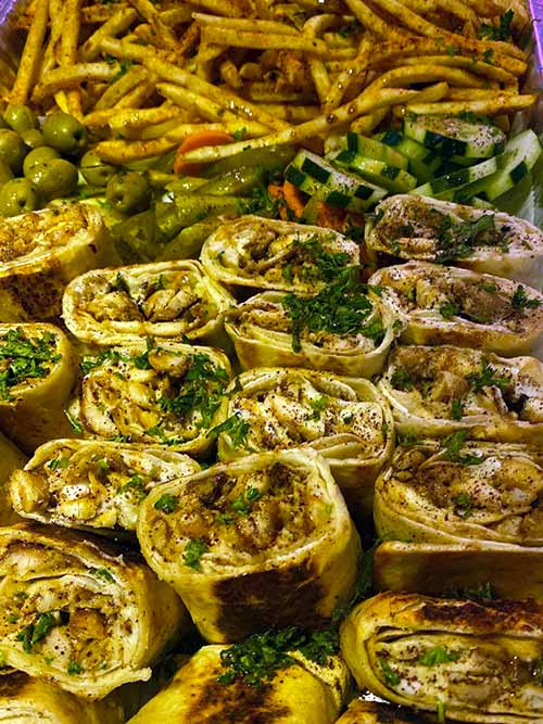 George's Catering - Wraps